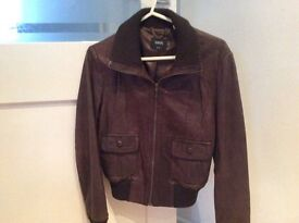 Lovely leather jacket size 10