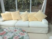 Free sofa - 3 seater with removable cover