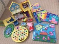 PEPPA PIG TOYS AND BOOKS