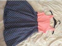 Girls dress 6-7 very good cond
