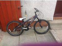 Boys / girls barracuda mountain bike front suspension