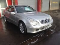2002 Mercedes Benz C220 SE CDi mot until March good all round vehicle