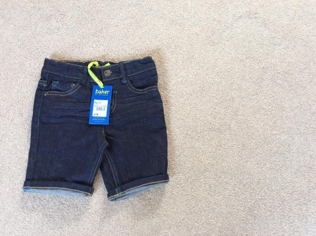 346d960413af Ted baker boys denim shorts age 2-3 years brand new