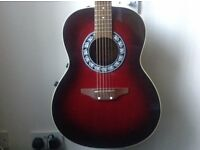 Encore ENC-2 Electro Acoustic Guitar, Round/bowl/back, Made in Italy, Stunning Condition!