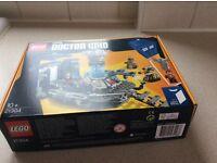 DR WHO TARDIS LEGO & 12th Dr Figure