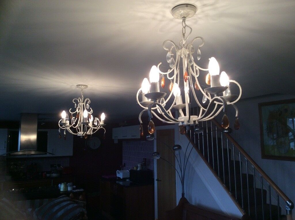 Pair of chandeliers | in Macclesfield, Cheshire | Gumtree