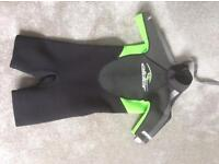 Child,s Neoprene Wet suit. Size medium 9-10yr