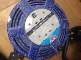 12m cassette extension cable reel