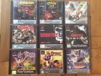 PlayStation 1 GAME bundle