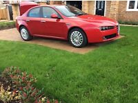 Alfa 159 1.9 JTDM Lusso - low recorded mileage