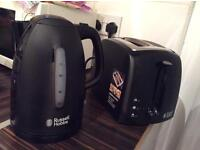 Russel Hobbs Kettle & Toaster Set