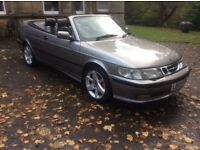 2003 SAAB 93 SE TURBO CABRIOLET ONLY 82000 MLS FSH LEATHER