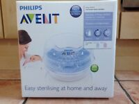 Avent Microwave steam steriliser - bnib!