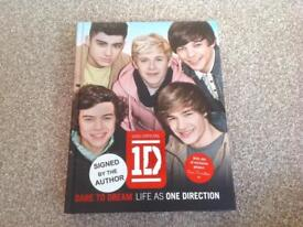 SIGNED BY AUTHOR - One Direction Book