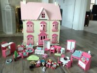 ELC dolls house and furniture