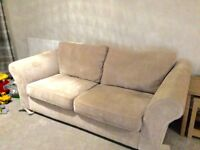 Next 3 seater sofa & 2 seater snuggle chair