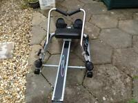 Excercize sit done rower