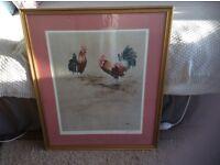Eric Sturgeon signed framed print
