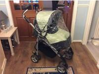 Silver-cross pushchair