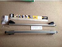 Roof Bars - M Way M-Profile Universal Aluminium roof bars 120cm RB1030