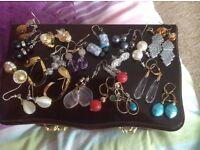 Dress Jewellery, earrings, braclet