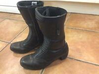 Ladies motorcycle boots size 40