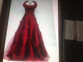 Evening gown SOLD