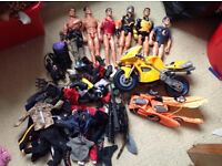 Bundle of Action Man items and Figures