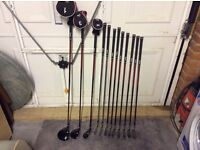 Dunlop tour golf clubs , full set