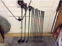 Dunlop tour golf clubs , full set