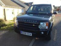 Land Rover discovery 3 se santarini black Dec 2009 FLSH