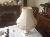 Two interior lamps