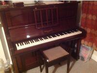"""piano - upright """"squire & longson"""""""