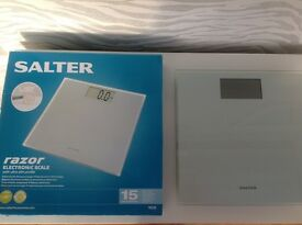 Salter Razor Ultra Slim Electronic Digital Bathroom Scales