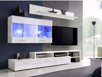 Living room furniture set Vicky / Free LED ! / TV Stand / Wall Unit / High Gloss