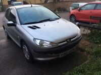 2001 Peugeot 206 1.4cc petrol 5 door hatchback 47000 miles from new 12 months mot very clea car