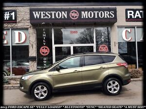 2013 Ford Escape SE*FULLY LOADED*BLUETOOTH*SYNC*HEATED SEATS*