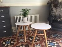 John Lewis pair coffee/bed-side tables, fabulous condition