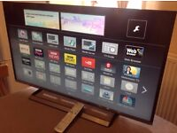 PANASONIC 40-inch Smart ULTRA SLIM HD LED TV, 2015 model,built in Wifi, Freeview HD, great condition