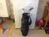 Starter set of golf clubs
