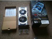 XFX R7 HD7870 DD 2GB Graphics card black edition/with 750/850watt psu