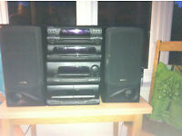 Kenwood Stacking Stereo System (inlcudes tape player, cd player, radio and equalizer)