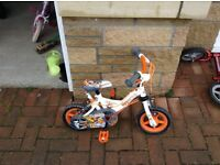 Toddler bikes with stabilisers