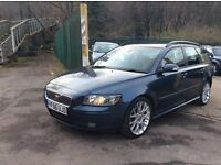 Lovely 2006/56 VOLVO V50 D Sport Diesel Estate, Brand New MoT, Excellent Clean Car