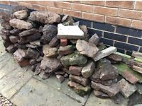 Free for collection. Quantity of Rockery stone & hardcore