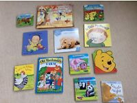 Toddler board books x 12