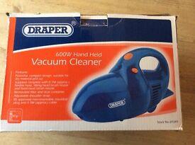 Draper hand held vacuum cleaner