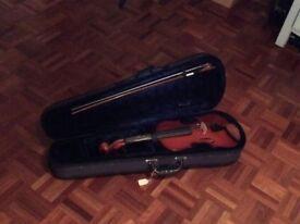 Violin 3/4 bow & case