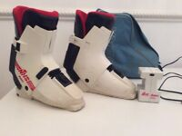 Nordica heated ski boots UK size 8
