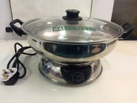 Mastarcook 2 Sided Electric Multi Cooker Hot Pot 4.2 litre used in very good working condition !